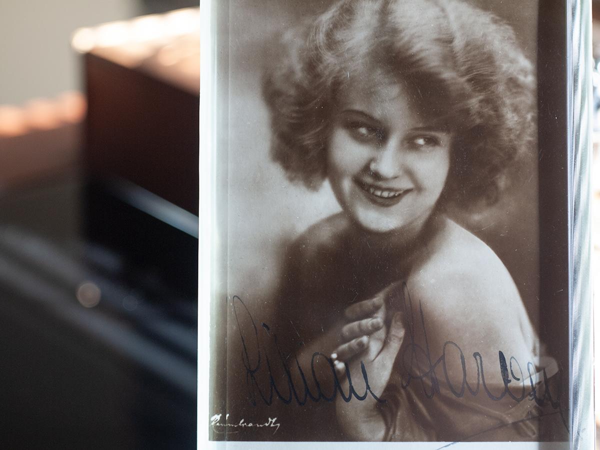 Lilian Harvey Autographed Postcard