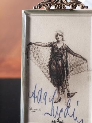 Ada Svedin Autographed Postcard