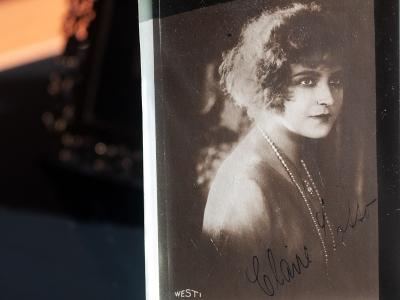 Claire Lotto Autographed Postcard