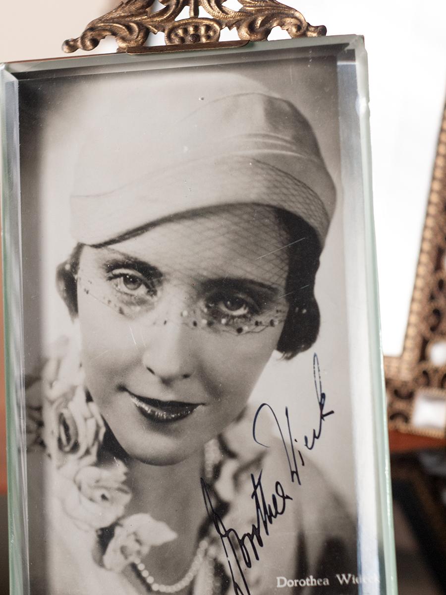 Dorothea Wieck Autographed Postcard
