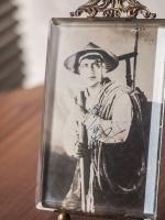 Asaoka Nobuo Autographed Postcard