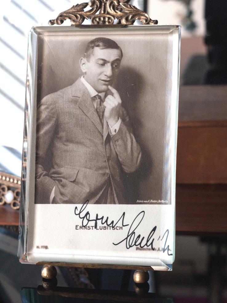 Ernst Lubitsch Autographed Postcard