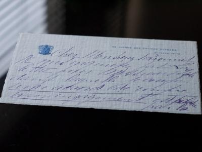 Falconetti Hand-written Letter 02