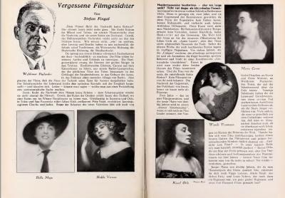 Vergessene Filmgesichter (UFA magazine 1927-01-06)