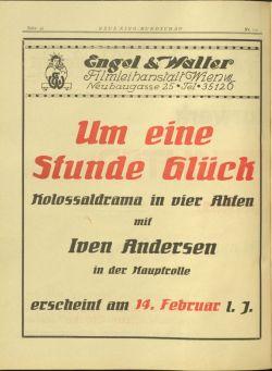 Iven Andersen in ...um eine Stunde Glück (1918)