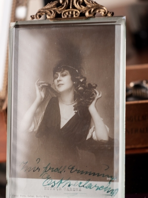 Esther Carena c1920 Autographed Postcard