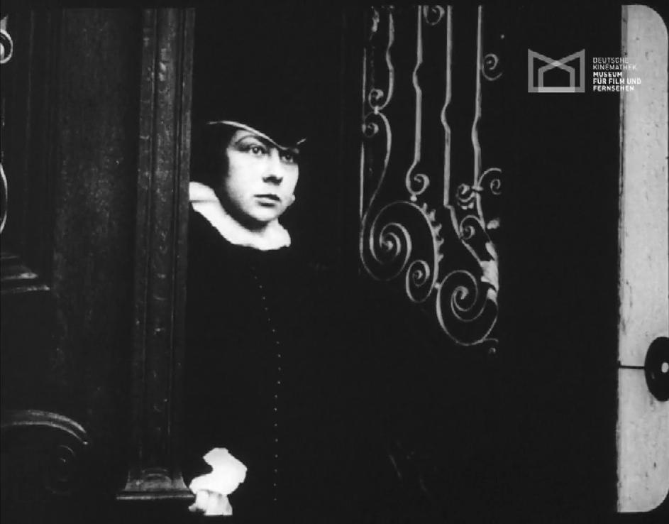 Esther Carena in Ikarus, der fliegende Mensch (1918)