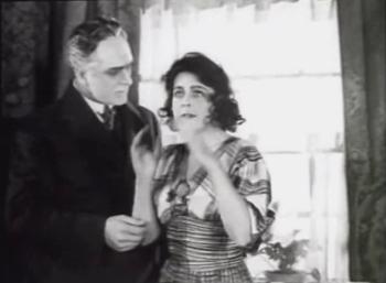 Gudrun Bruun in Der Gang in die Nacht (1921, Murnau)