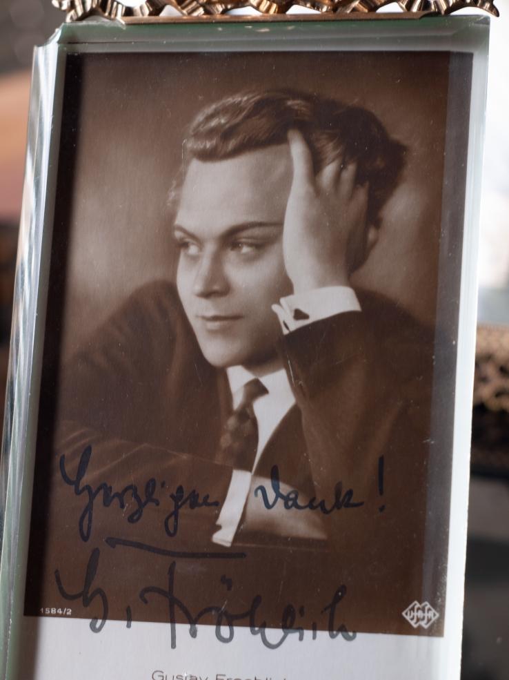 Gustav Fröhlich Autographed Postcard