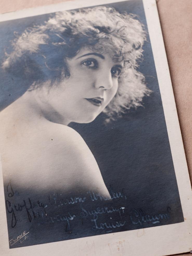 Louise Glaum Autographed Photo