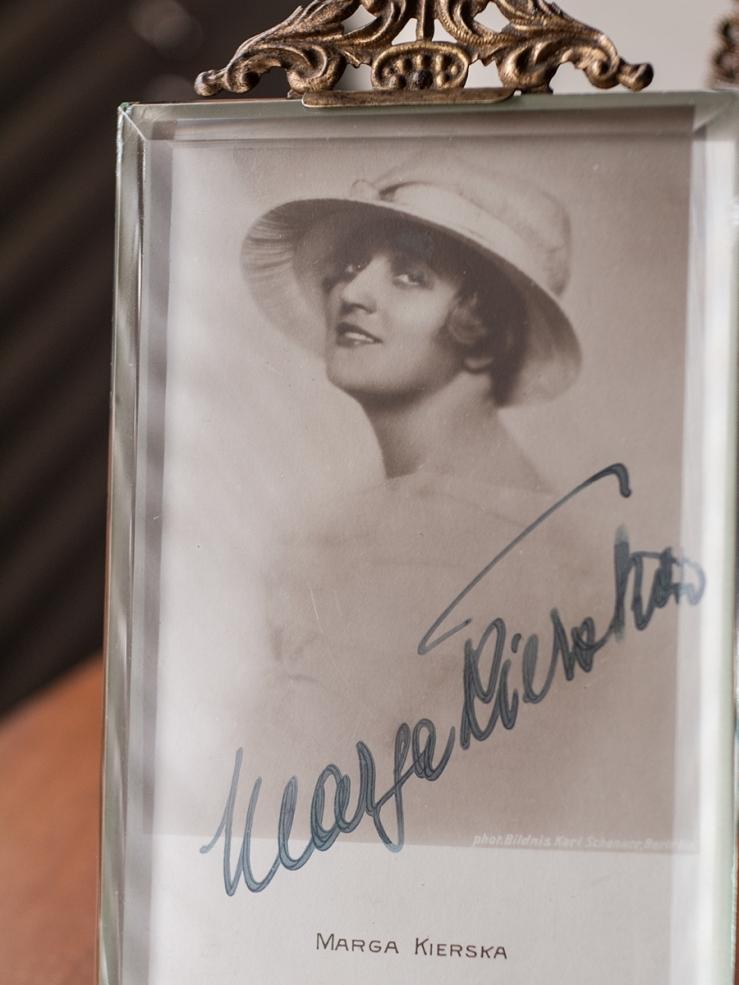 Marga Kierska c1920 Autographed Postcard