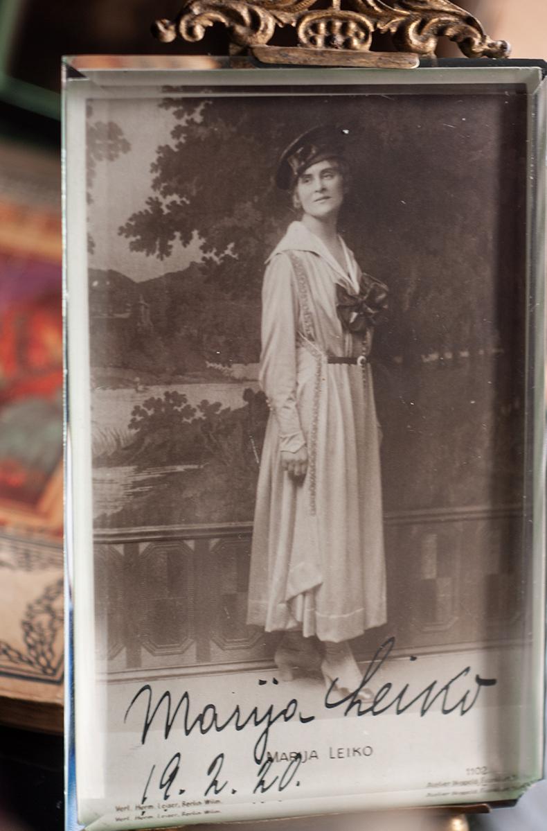 マリア・レイコ 1920年 サイン絵葉書