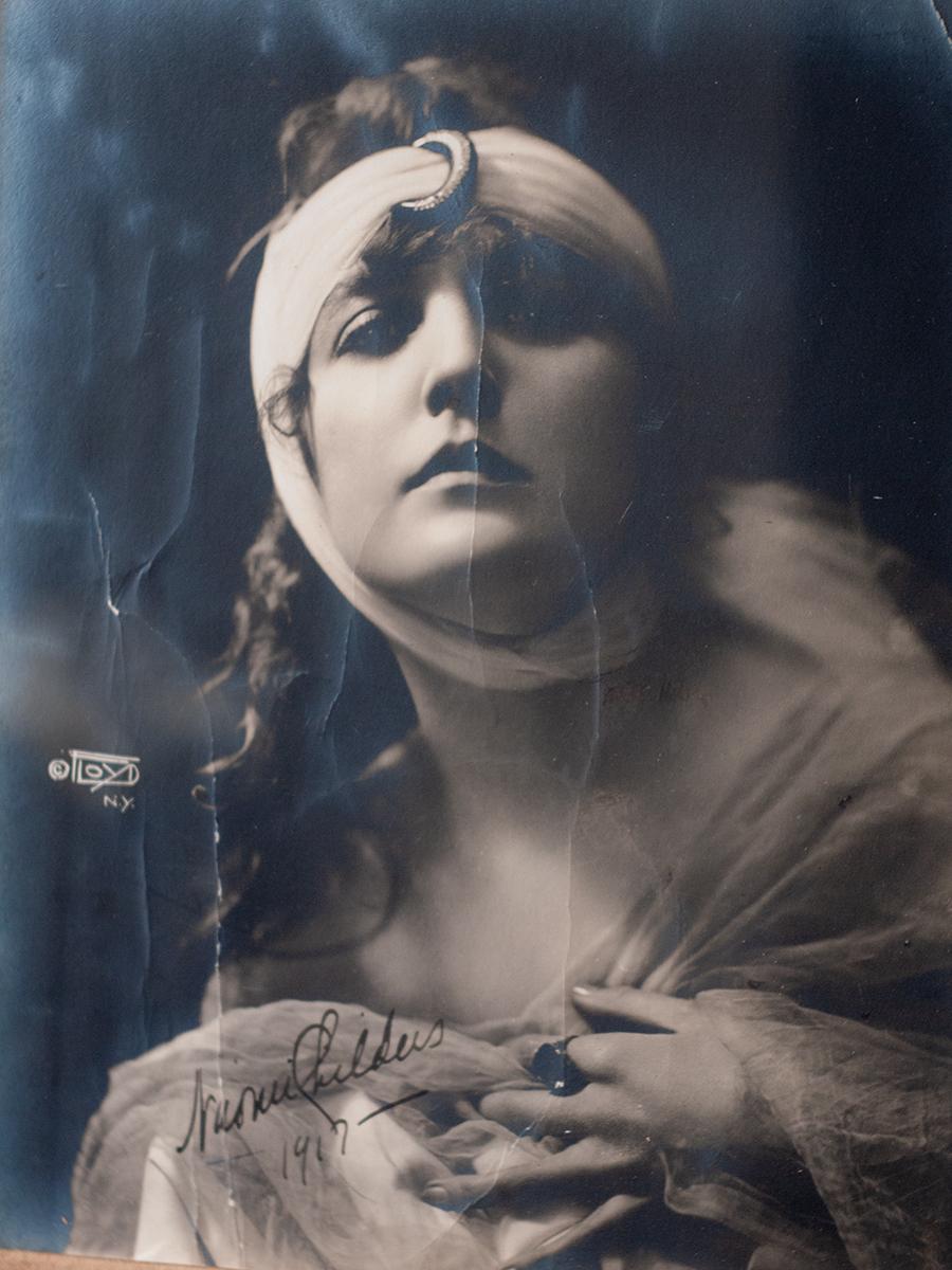 Naomi Childers 1917 Autographed Photo