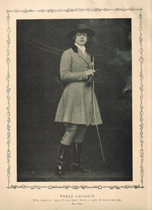 Peggy Longard in 1919 Elegante Welt issue 14