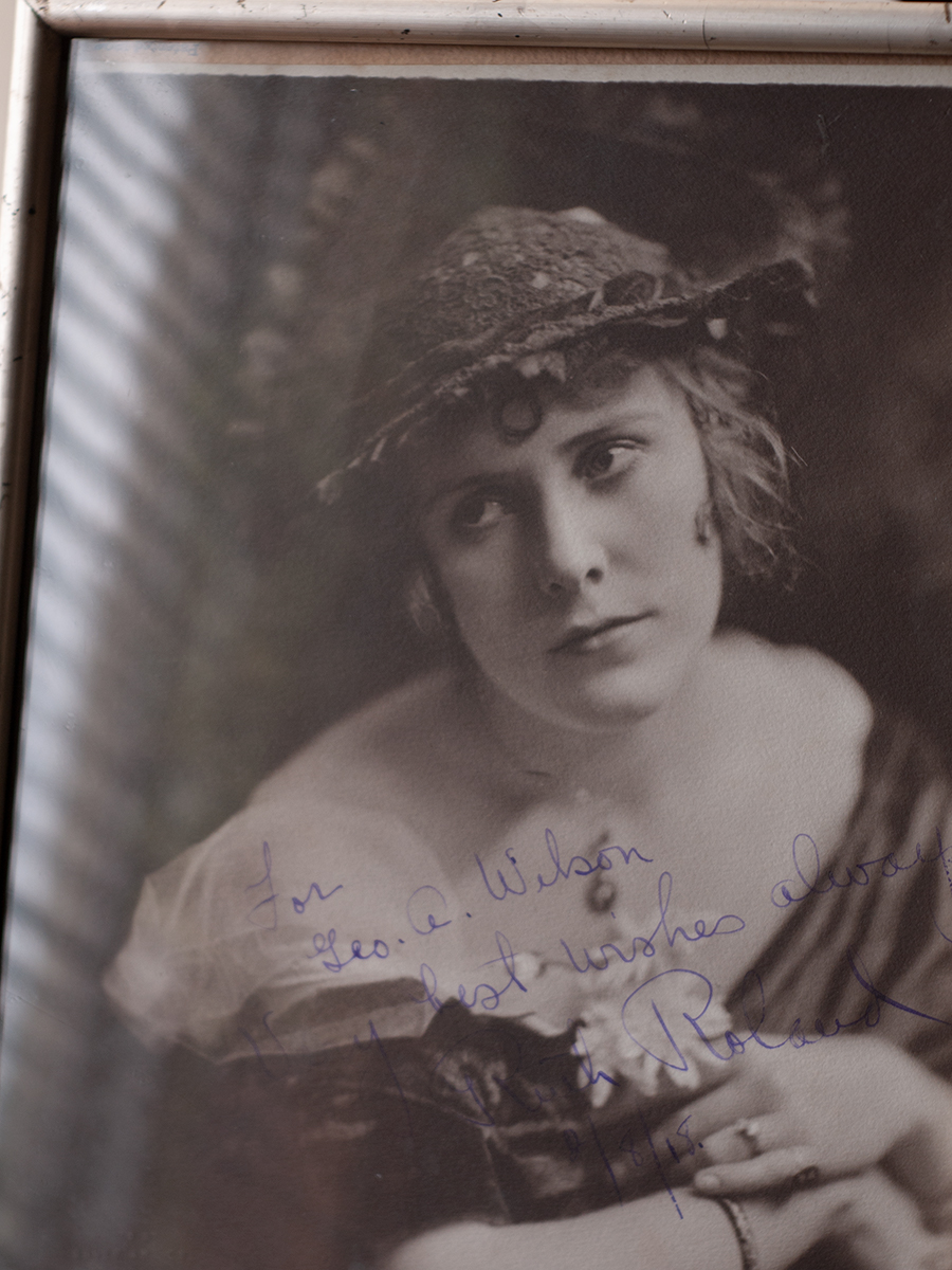 Ruth Roland 1918 Inscribed Photo