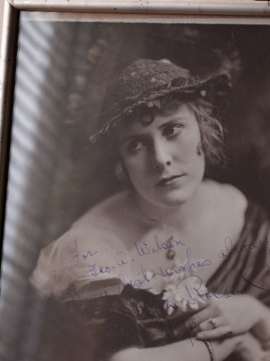 Ruth Roland 1915 Inscribed Photo