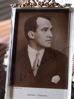 Wilhelm Dieterle Autographed Postcard
