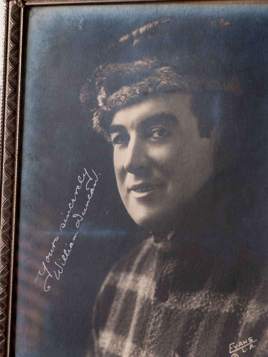 William Duncan Autographed Photo
