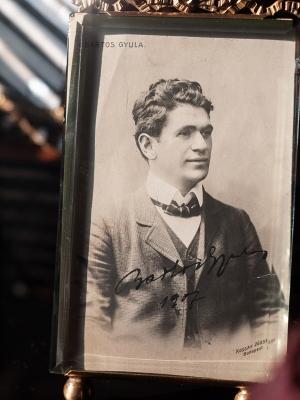 Bartos Gyula Autographed Postcard