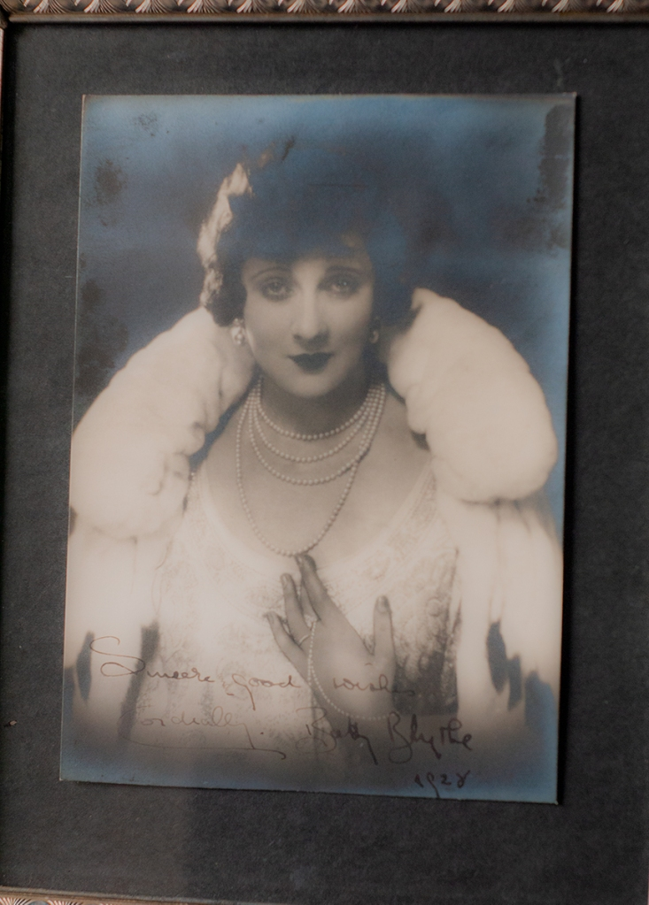 Betty Blythe 1928 Autographed Photo