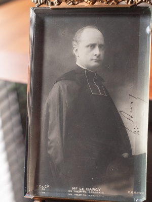 Charles le Bargy Autographed Postcard