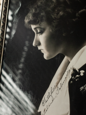 Constance Talmadge c1917 Autographed Photo