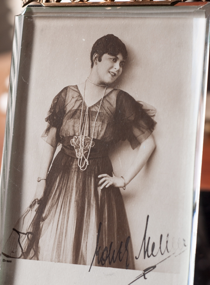 Edith Meller c1920 Autographed Postcard