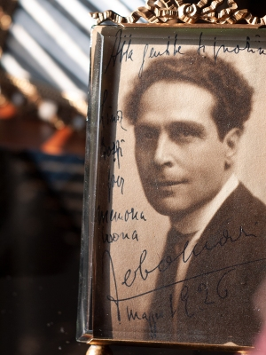 Febo Mari 1926 Inscribed Postcard