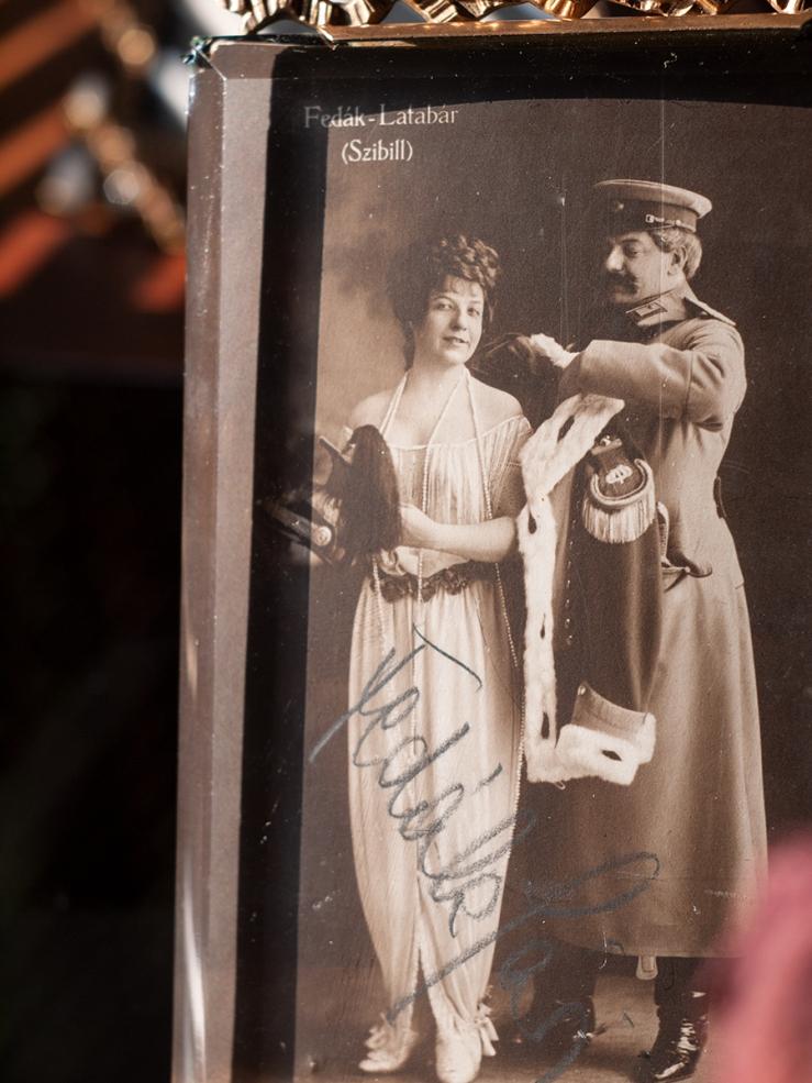 Fedák Sári Autographed Postcard