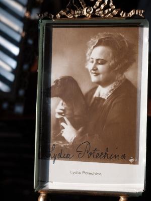 Lydia Potechina Autographed Postcard
