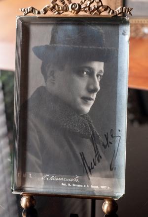 Vladimir Maksimov 1910s Autographed Postcard