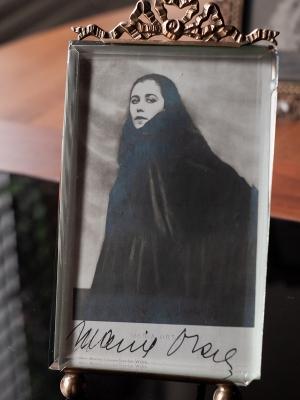 Maria Orska Autographed Postcard