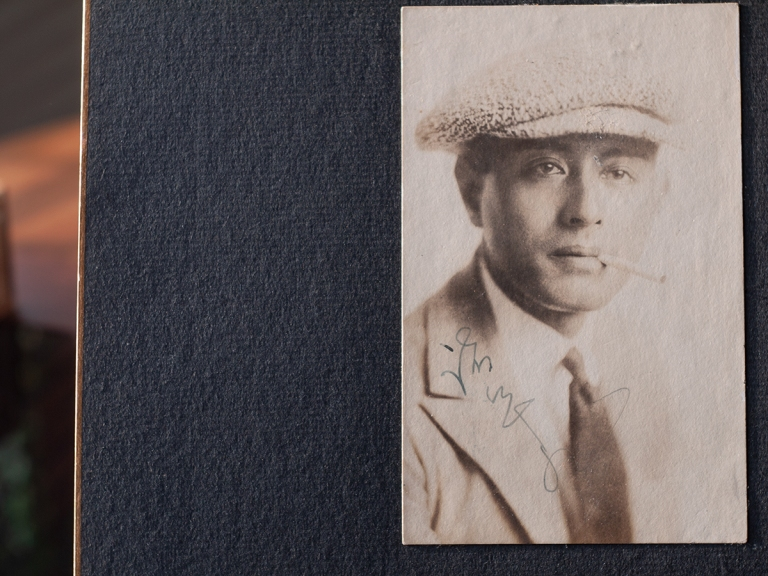 Moroguchi Tsuzuya Autographed Postcard