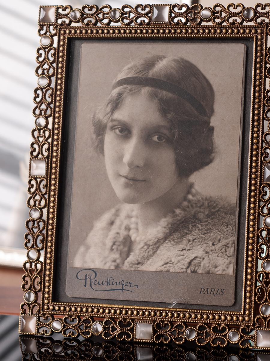 Stacia Napierkowska c1910 Cabinet Photo (Reutlinger, Paris)