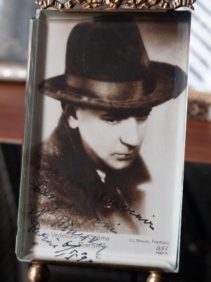 Nicolas Rimsky Autographed Postcard