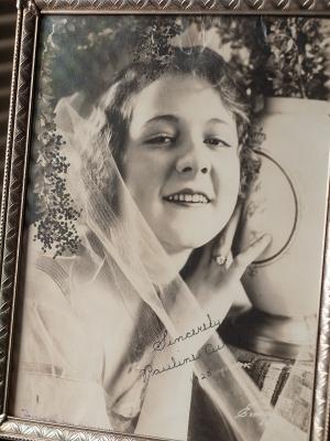 Pauline Curley 1920 Autographed Photo