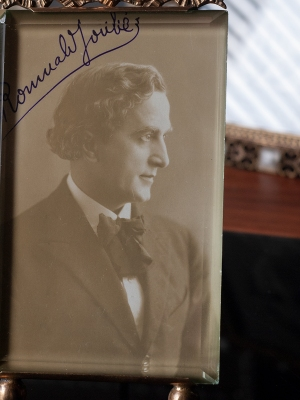 Romuald Joubé Autographed Postcard