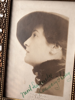 Rosemary Theby 1910s Autographed Photo