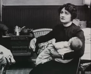Rosemary Theby in The Bachelor's Baby, or How It All Happened (1913)