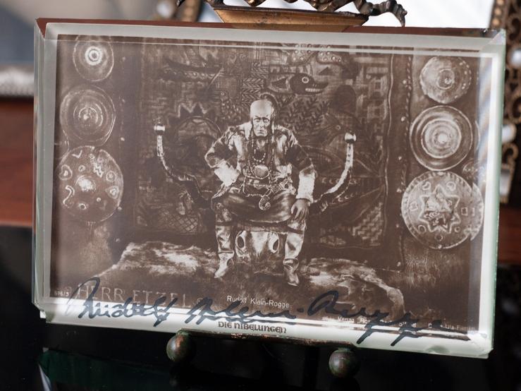 Rudolf Klein Rogge Autographed Postcard 01