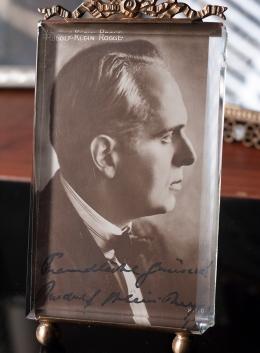 Rudolf Klein Rogge Autographed Postcard 02