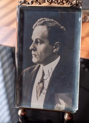 Valdemar Psilander Autographed Postcard