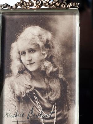 Andrée Brabant Autographed Postcard