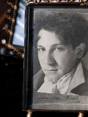 Edmond Van Daële Autographed Card