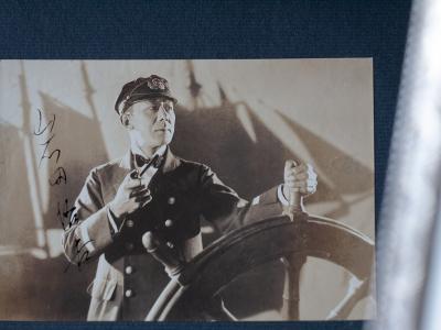 Iwata Yukichi Autographed Postcard
