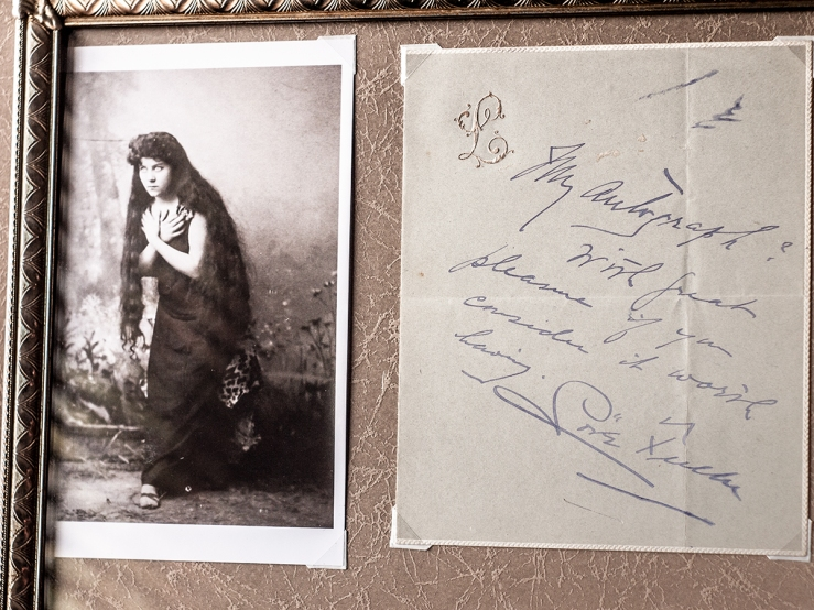 Loïs Fuller Hand-written Letter