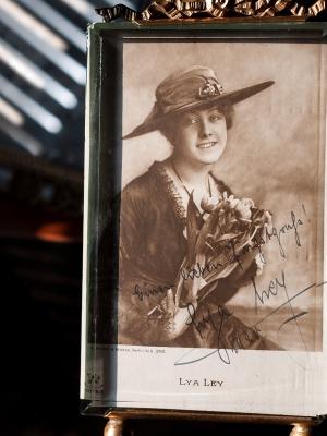 Lya Ley c1920 Autographed Postcard