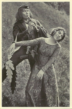 Lyda Salmonova in Der Rattenfänger von Hameln (1918)