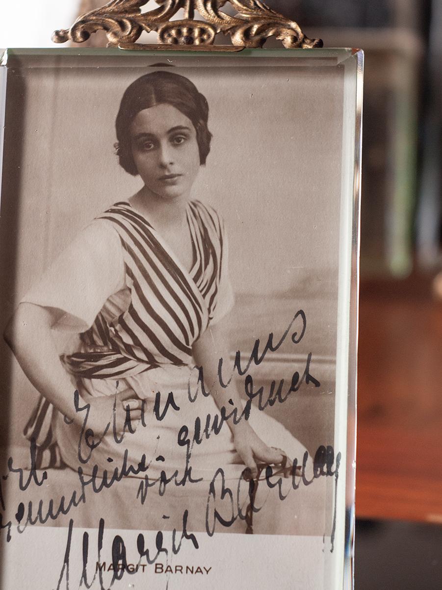 Margit Barnay c1920 Autographed Postcard
