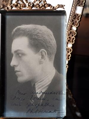 Philippe Hériat Autographed Postcard